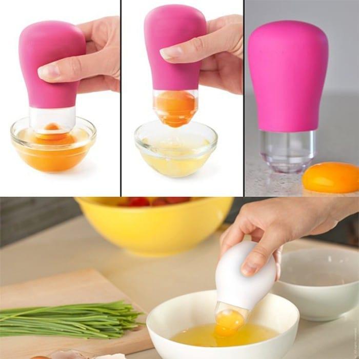 Dụng cụ tách lòng đỏ trứng gà
