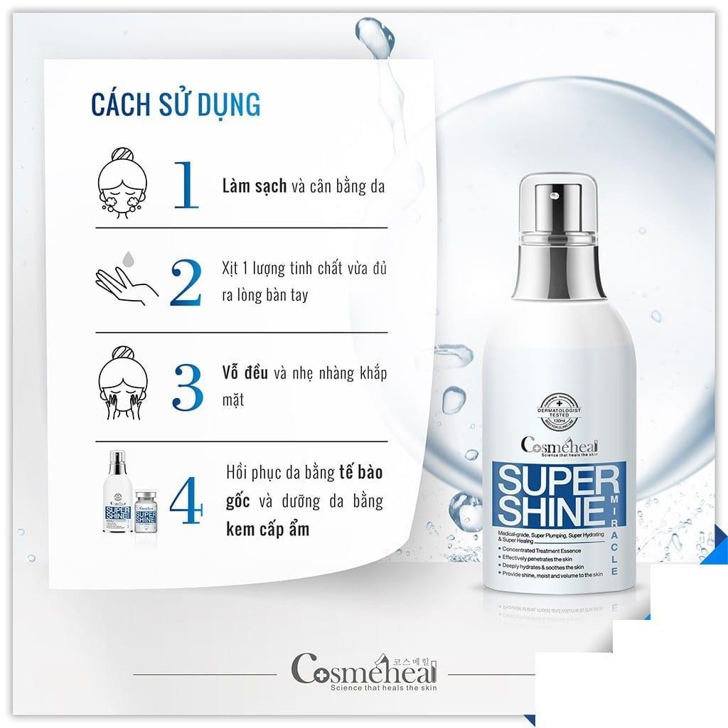 Cách sử dụng nước thần Cosmeheal
